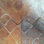 Grietas en piso-suelo