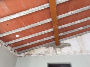 Vigas techo