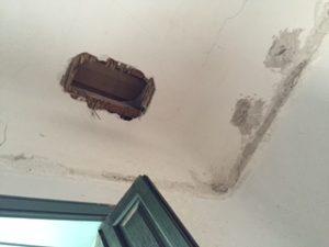 Perforacion en techos