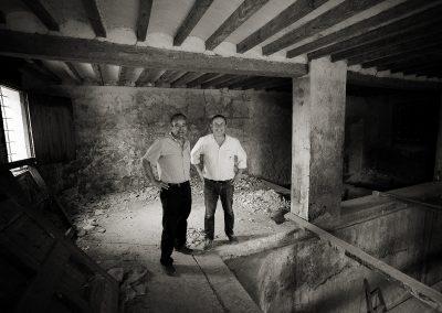Bodeha Fondillon de Torre Juana: Rafael Poveda y Andrés Pedreño
