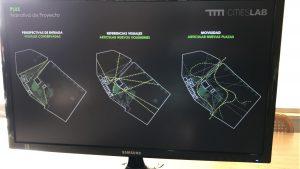 Plano de TJ para proyección de la arquitectura patrimonial