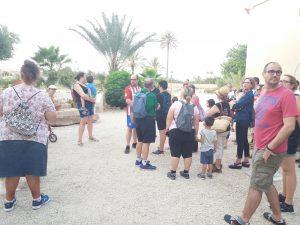 Visita en Torre Juana